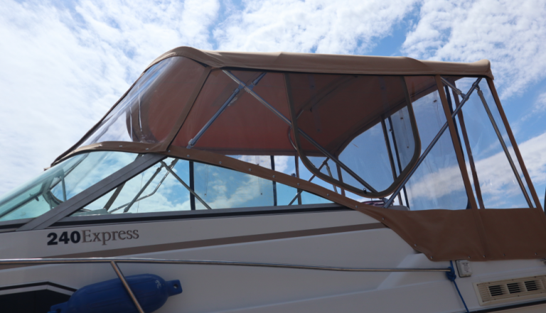 Boat tops and boat upholstery